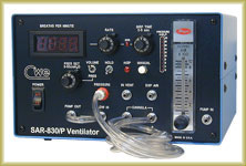 SAR-830 Volume-Cycled Small Animal Ventilator